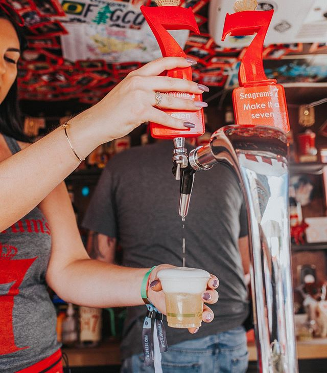@seagrams7 will be pouring cold whiskey cocktails to pair with your food truck grub at our next stop on July 4th. . . #seagrams7 #streetfood #foodtruckfestival #foodtrucks