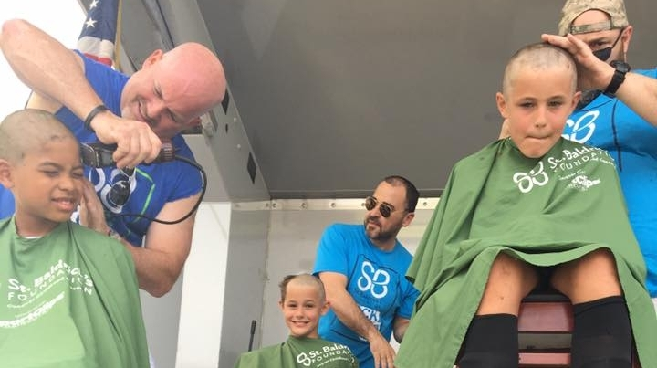 $423,384 - That's the total our little village raised in 2018 during our annual shave event benefiting the St. Baldrick's Foundation.