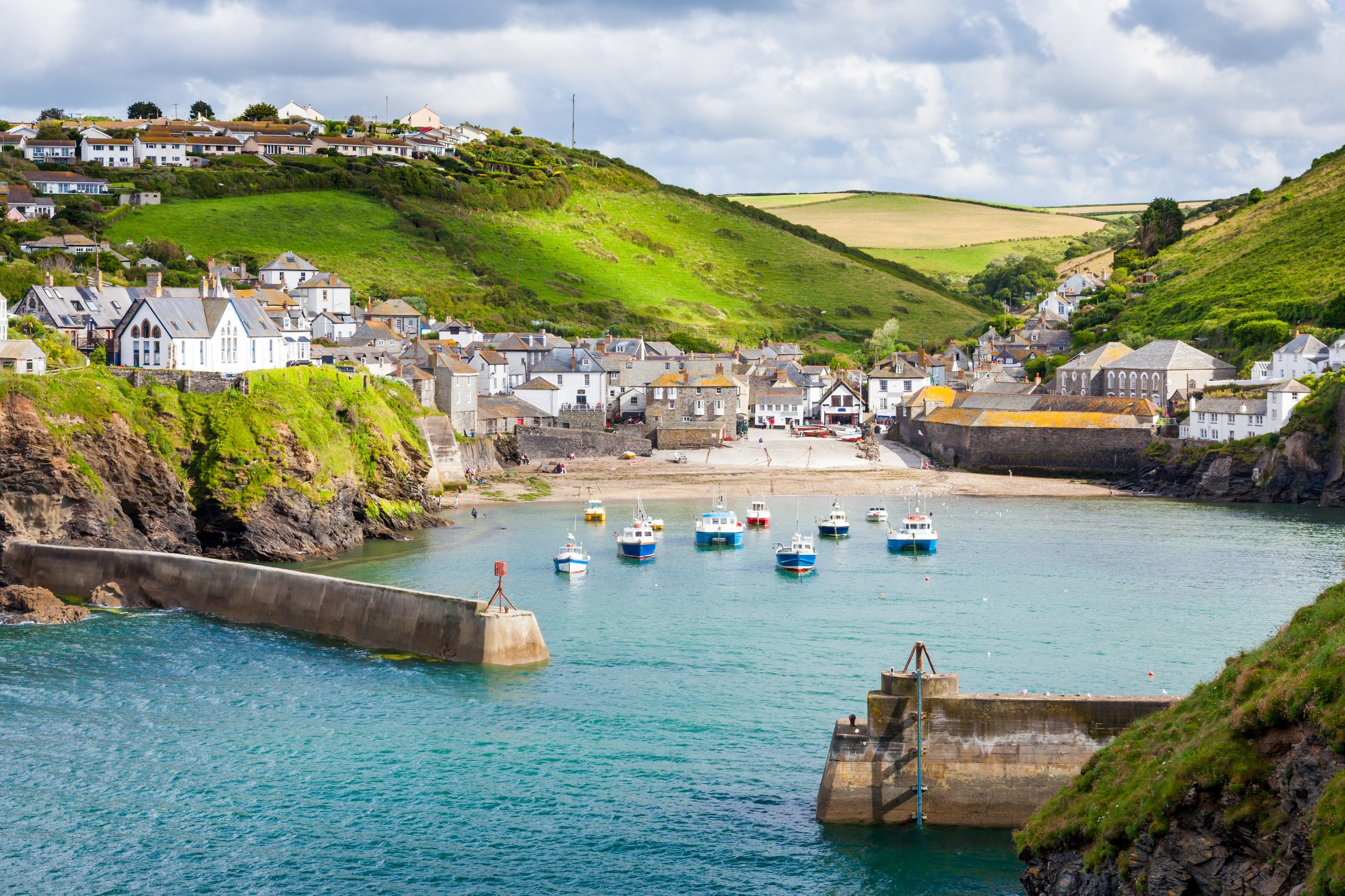 Our Home! - Port Isaac is a small and picturesque fishing village on the Atlantic coast of north Cornwall, England, United Kingdom.