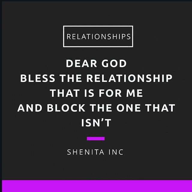 When you realize that today is a gift and tomorrow isn't promised you switch those prayers up a bit! #blockit #blessit #relationships #prayforyourrelationship #dontwastetime