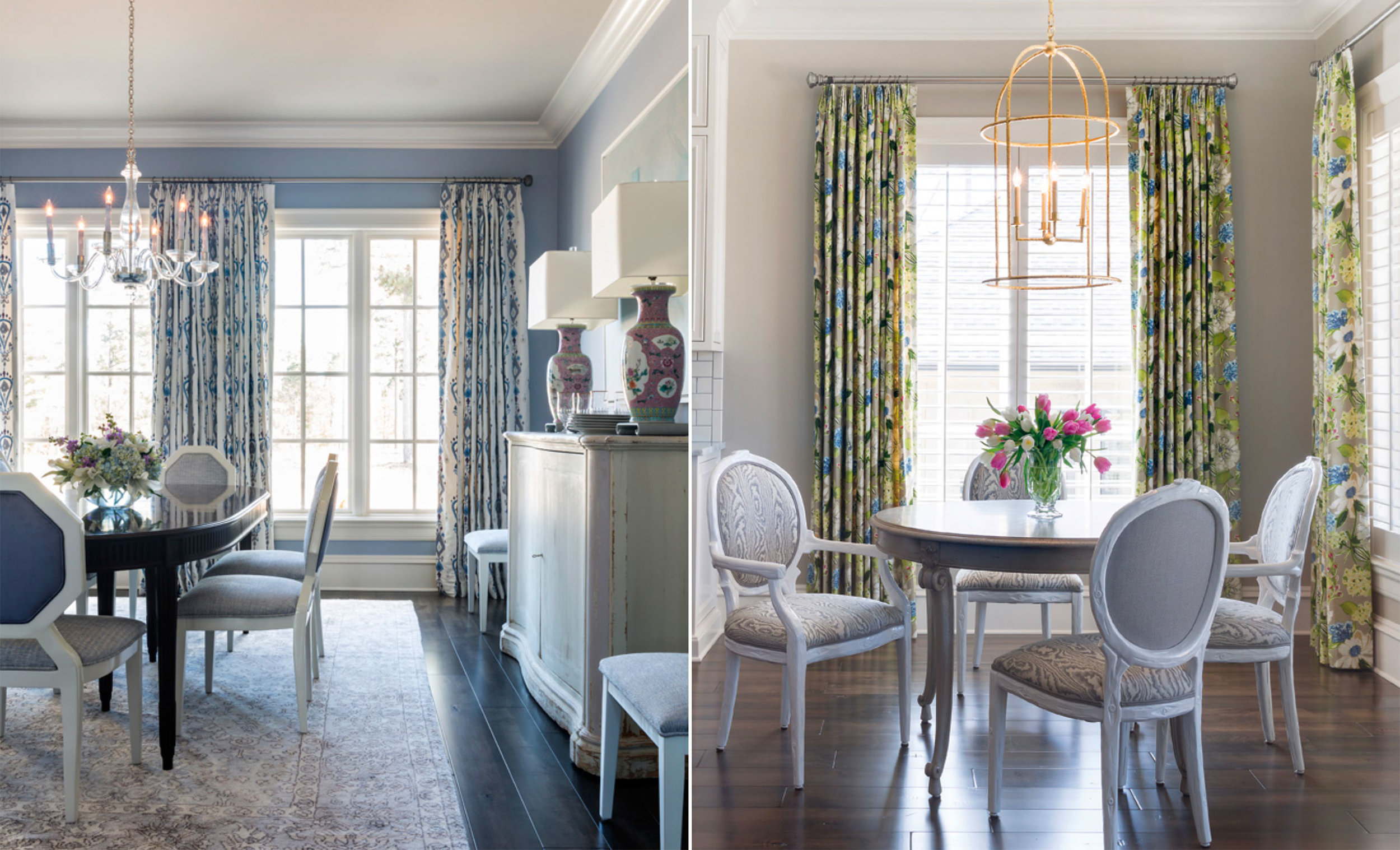 Interior design by Andrea Brooks, photographed by Nancy Nolan.