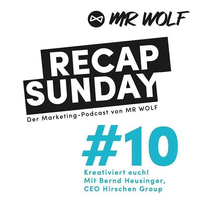 Out now: MR WOLF Recap Sunday Podcast Episode 10. Available on Spotify, Apple Podcasts, Soundcloud and (almost) everywhere else! . . . . .  #mrwolf #podcast #podcastlife #startup #entrepreneurlife #entrepreneurs #entrepreneurlifestyle #entrepreneurship #onlinemarketing #motivational #successful #businesswoman #inspiredaily #businessman #founder #businessowner #youngentrepreneur #startuplife  #ig_deutschland #diestadtberlin #berlinstagram #berlinstyle #ig_berlin #berlincalling  #focalmarked