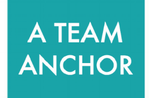 A TEAM ANCHOR  is the go-to leader of the team who is responsible for making sure the team has clear expectations, good communications, and keeps on track.  This person is also the troubleshooter for any challenges that arise.