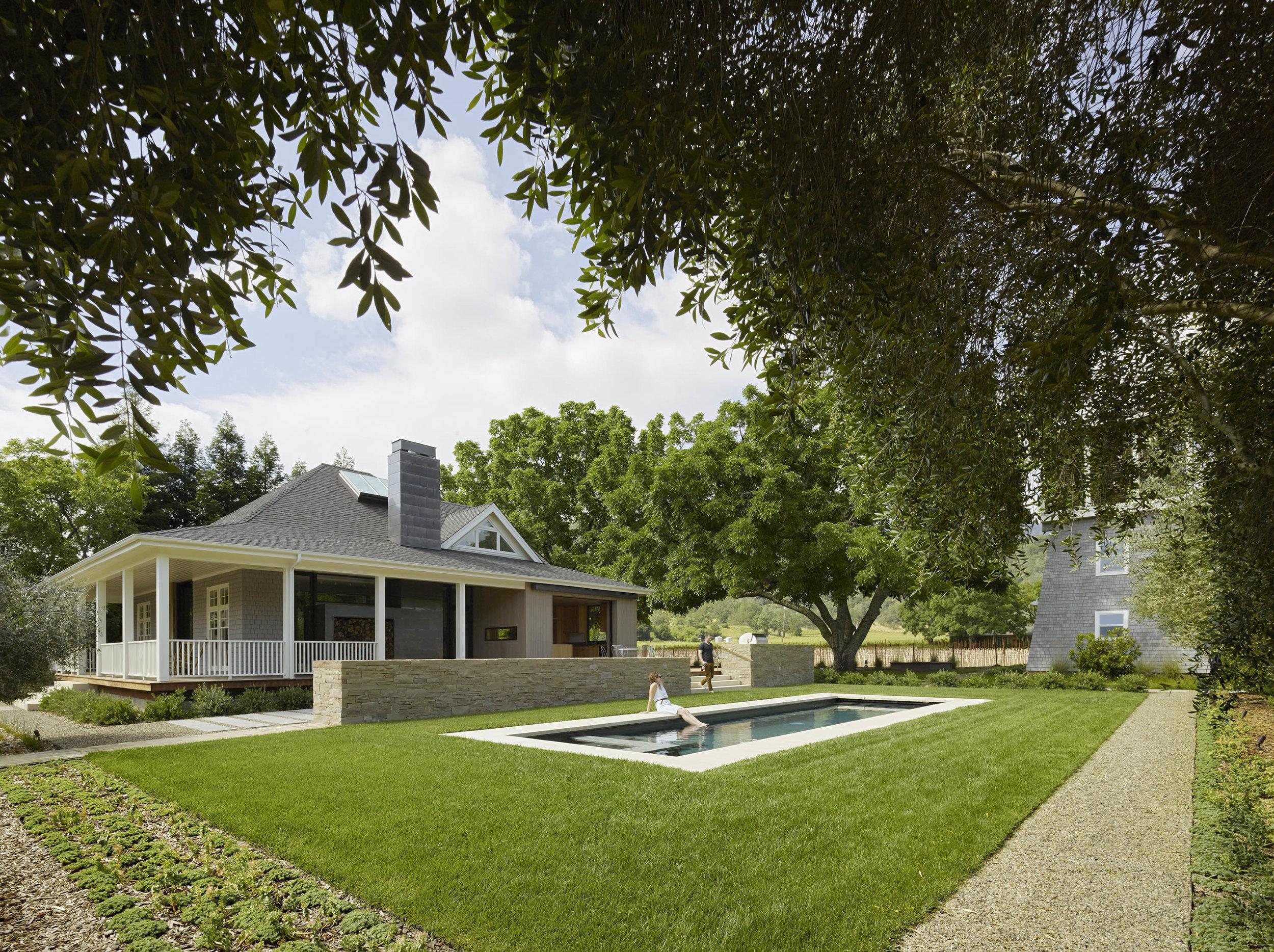 Vineyard Residence, Napa Valley CA