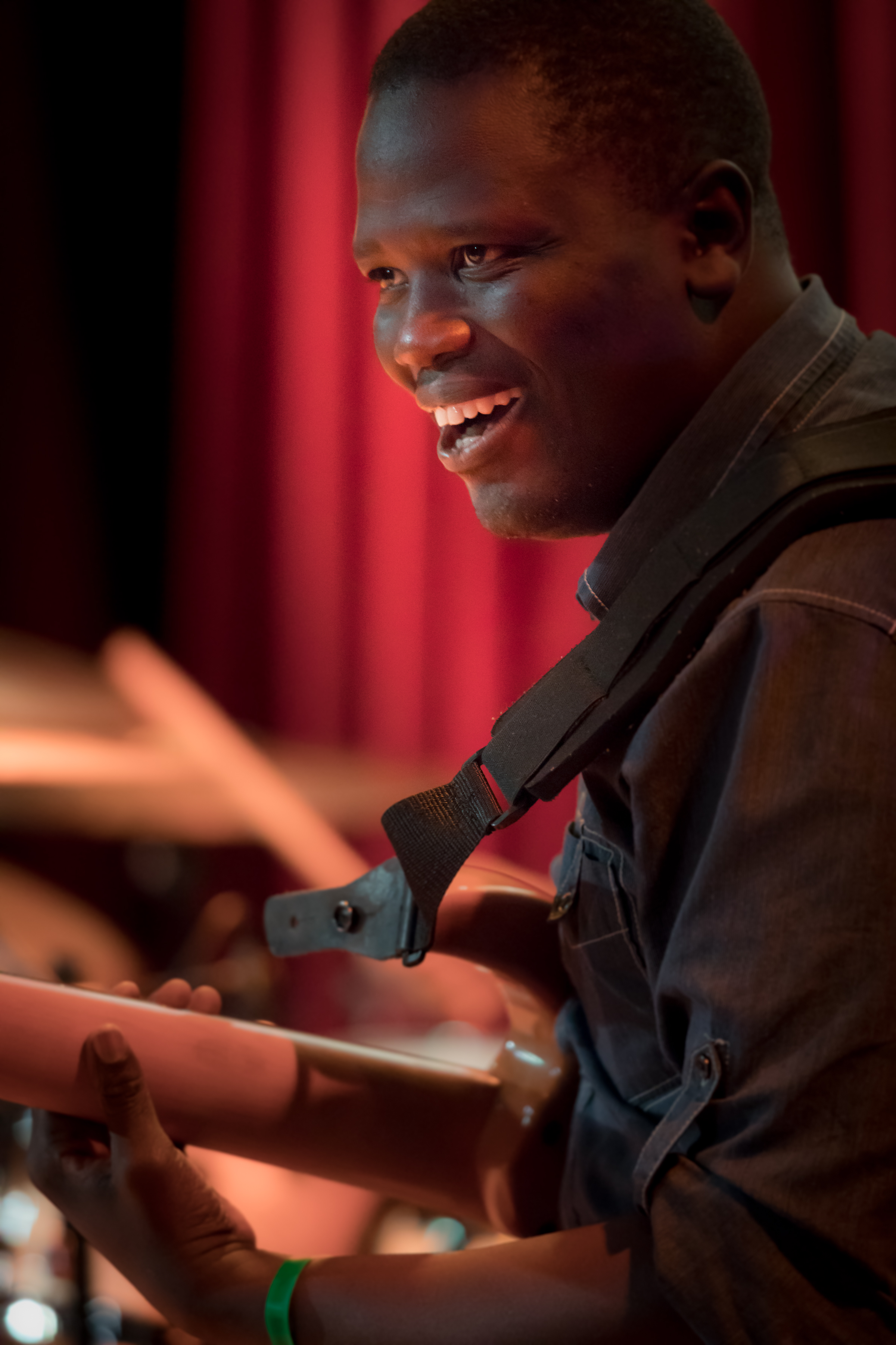 Cheikh NDoye - Bass (Website)Photo by Perry Joseph Photography