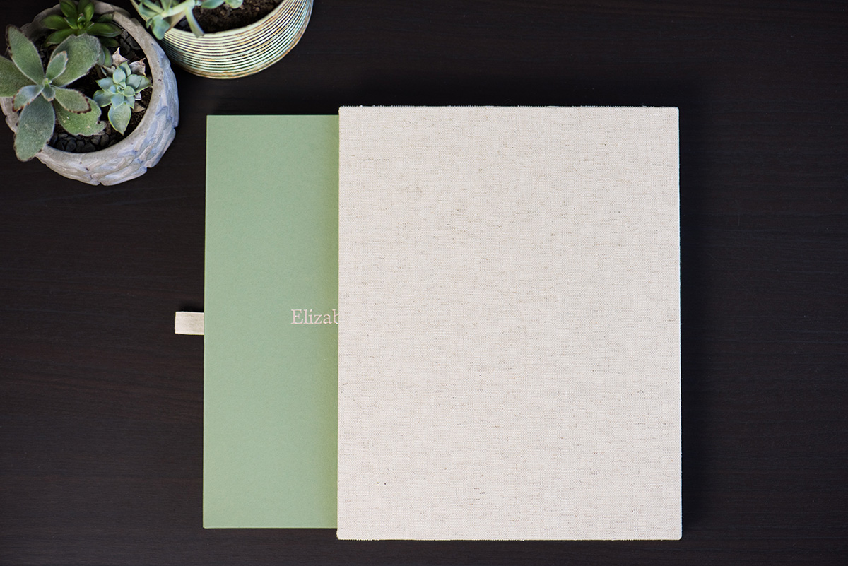 MATTED SLIPCASE - Modern & Sophisticated.