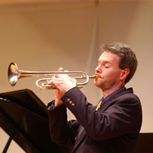 Phil Snedecor, co-founder, manager and arranger of The Washington Symphonic Brass.