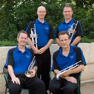 The Trumpet Section - Phil Snedecor, Mathew Harding, Scott Sabo, Chris Gekker.
