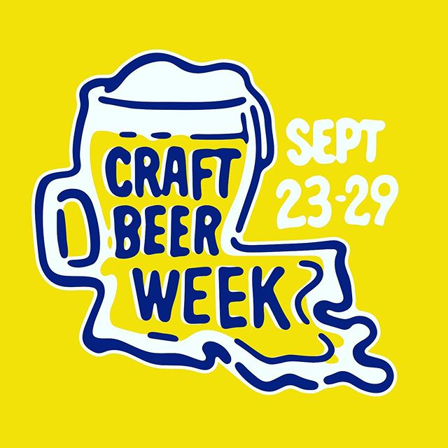 🚨 🚨 Get out and show some love to your local brewers...it's their week to celebrated. Tag us in your pics so we can all enjoy the tasty suds. #LaBrews2019 #LACBW2019 *****Shop, Visit and Support #DrinkLocal #DrinkLouisiana