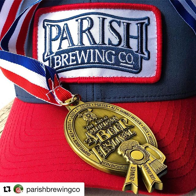 WE.ARE.PROUD! #LouisianaBeer #OnlyLouisiana #Repost @parishbrewingco@ ・・・ 🏅🏅GOLD!!!🏅🏅Congratulations to all of the winners today at the 2019 Great American Beer Festival!  We are grateful and honored to win the Gold Medal in the Emerging IPA category with Pure Tropics.  This category is about innovation and that makes us particularly proud as we focus strongly on pushing boundaries of what high quality beer can be.  This year there were 9,497 beer entries from 2,295 breweries in the competition across multiple categories and we are humbled to be recognized among the other GABF medal winners!  #drinklocal #gabf #gabfgold #gabfgoldmedalwinner #parishbrewing #parishbrewingco