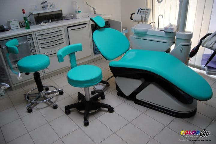 Dental Chair restoration by Color Glo International
