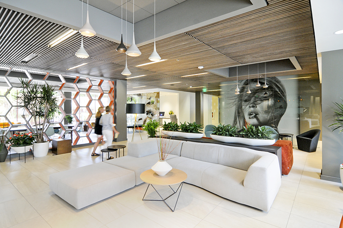 Hotel Eastlund Studio Art Direct Lobby Artwork Design Interior Design Portland Made