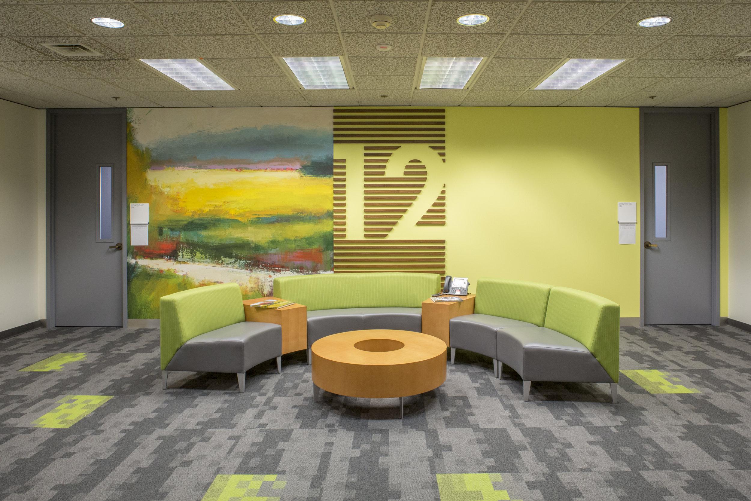 Studio Art Direct Custom Wallpaper Corporate Headquaters Portland Artwork