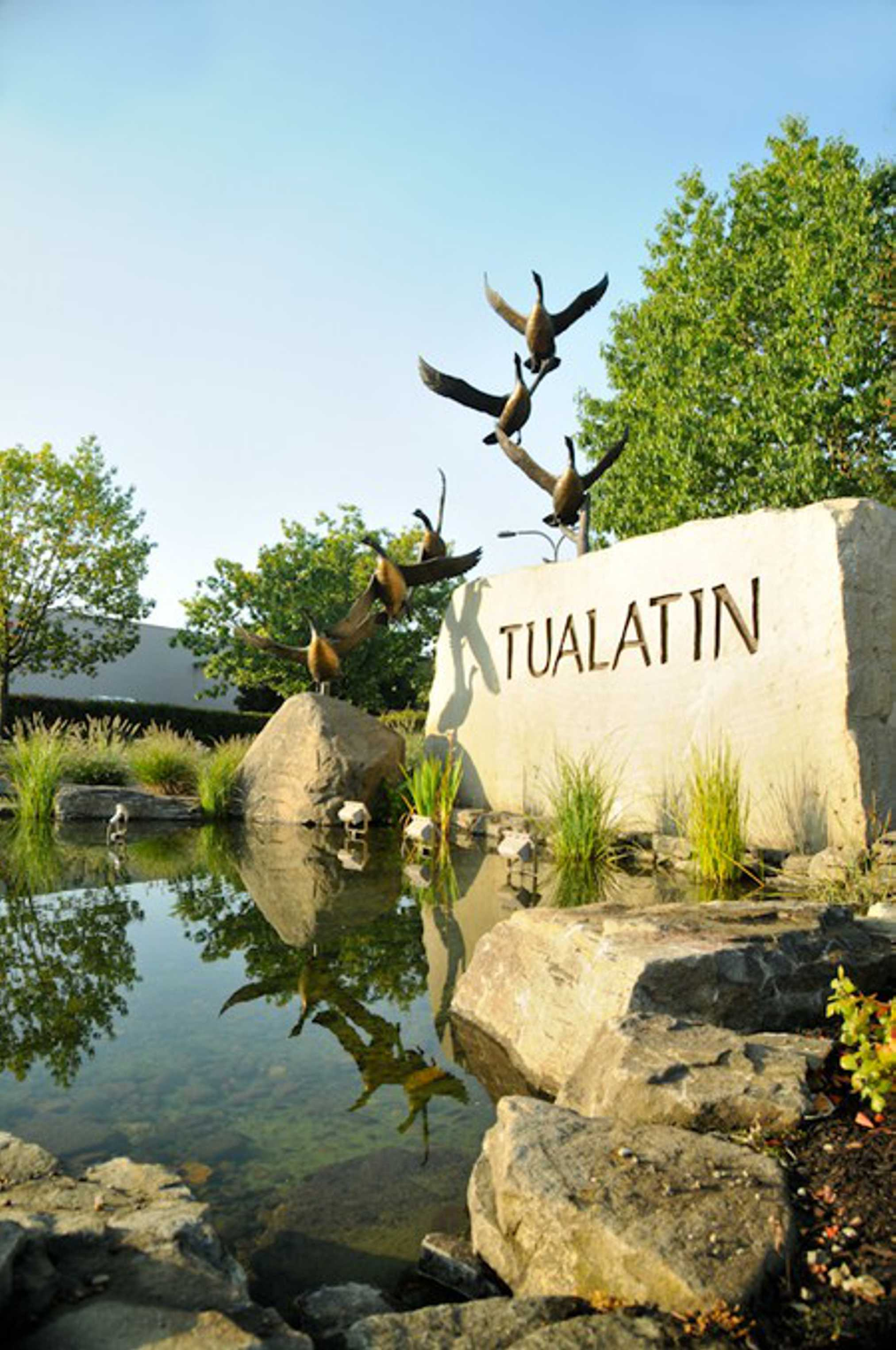 Tualatin Entry Monument Studio Art Direct