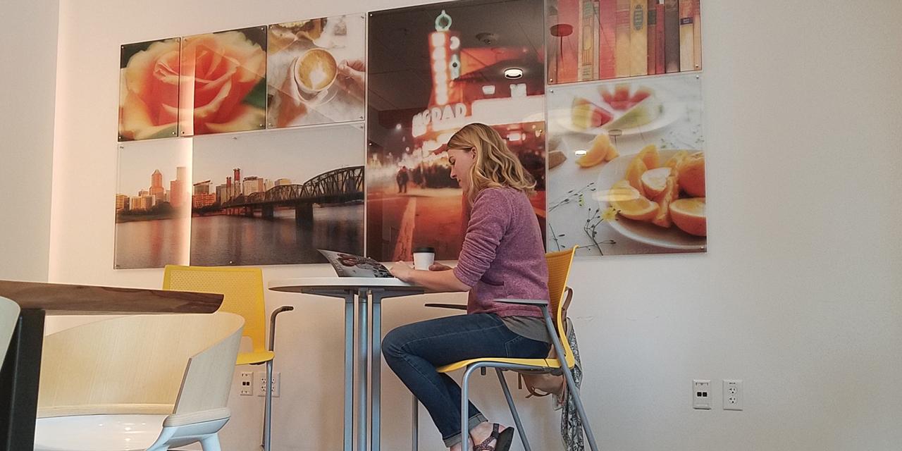 Studio Art Direct Hawthorne Care Essentials Carolyn Cruze Art Installation