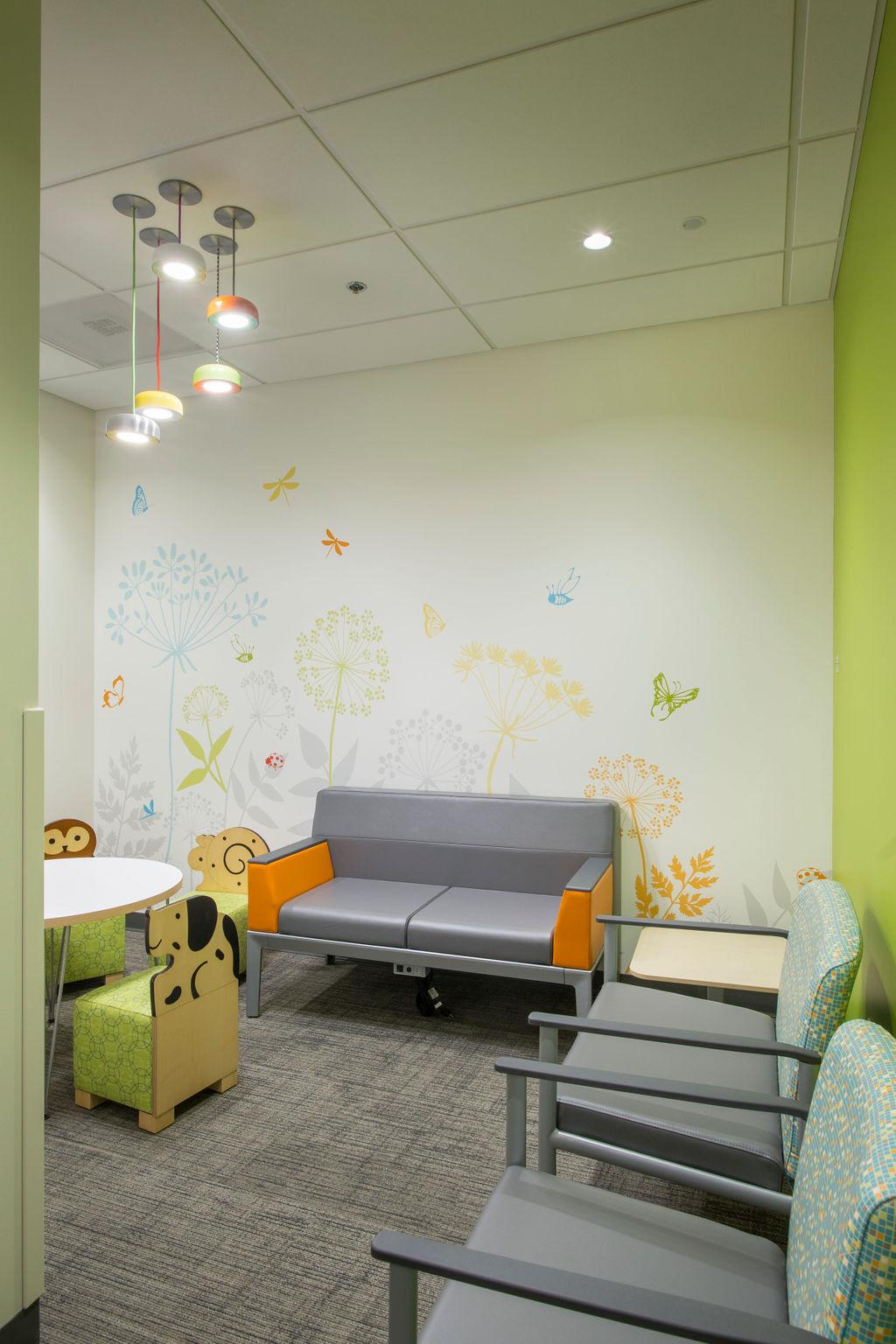 Pediatric Wallpaper Graphic Design