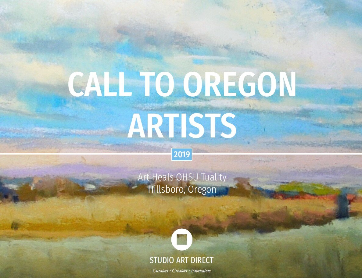 CLICK TO READ DETAILS FOR THIS CALL TO ARTIST   Artist Credit: Marla Bagetta, Milwuaukie Oregon