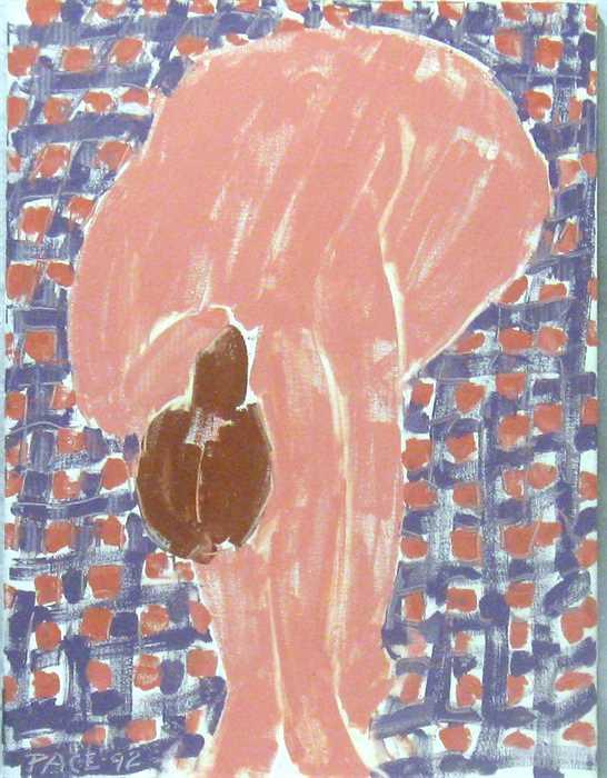 Nude Touching Heel (92-1), 1992