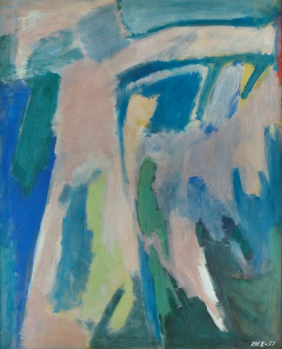 Untitled (51-03), 1951                         Oil on Canvas  47 x 38 in.