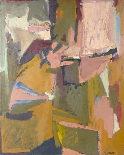 Untitled, 1951                                Oil on Canvas 41 x 33 1/2 in.