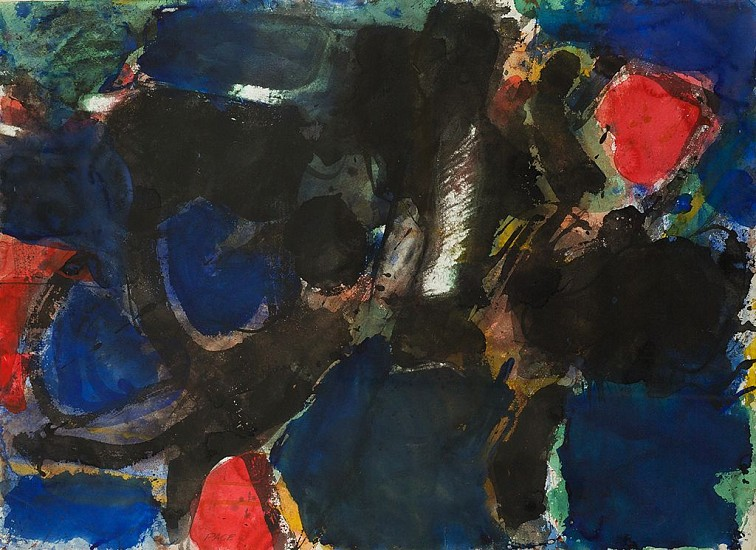 Untitled (53-W36A), 1953                   Watercolor 22 x 30 in.