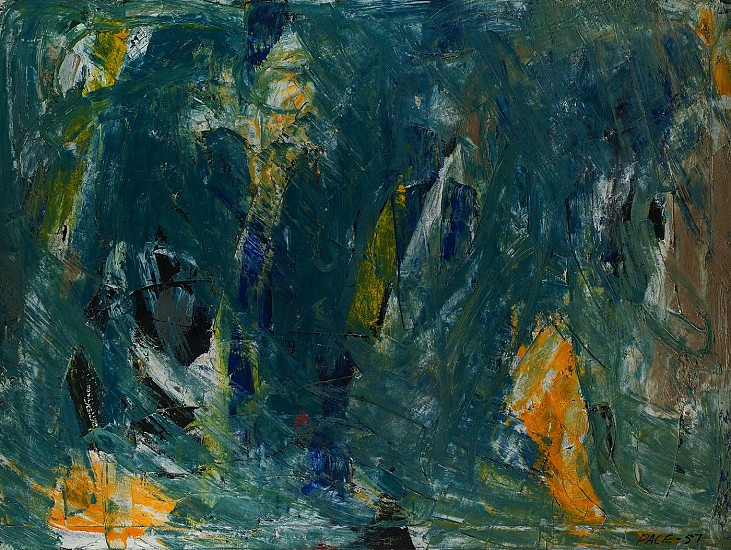 Untitled (57-08), 1957                   Oil on Canvas 36 x 48 in.