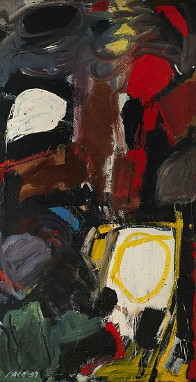 Untitled (57-05), 1957              Oil on Canvas 80 x 41 in.