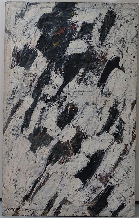 Untitled (57-09)                                  Oil on Canvas 56 x 35 in.