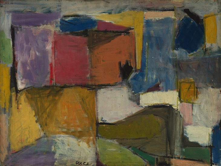 Untitled (50-1),1950                                Oil on Canvas 24 x 32 in.