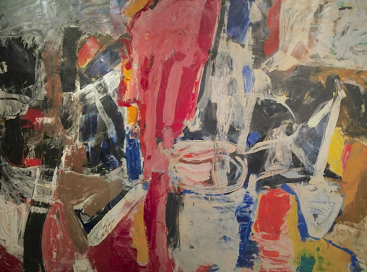 1950s - Image: Untitled (58 -13), 1958Oil on Canvas90 x 118 in.