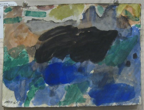 Untitled, 1961 Watercolor on Paper 22 x 30 in.
