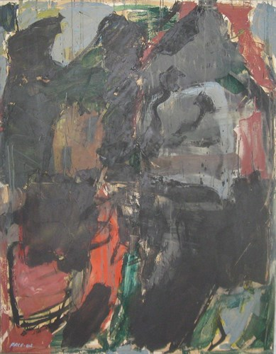 Untitled (62-2), 1962 Oil on Canvas 68 x 53 x 1 in.
