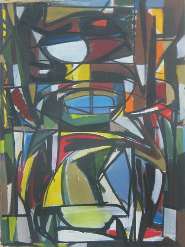 Untitled, 1949  Oil on Canvas  26 1/2 x 34 3/4 in.