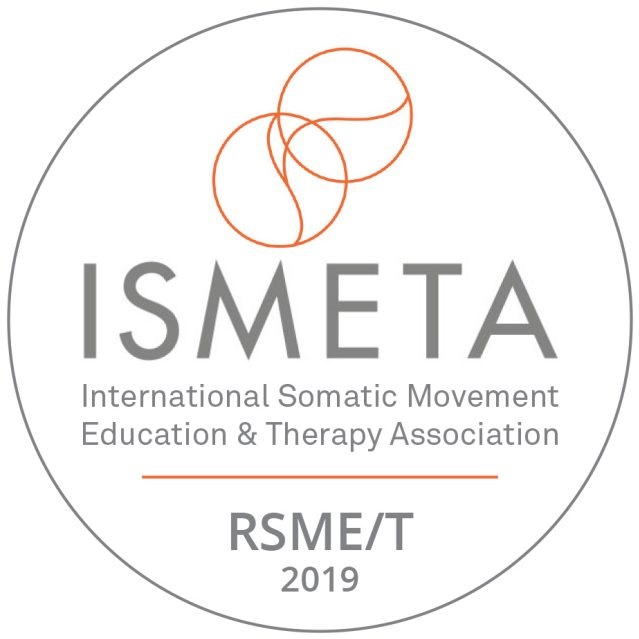 Now professionally certified! - As a Registered Professional Member of the International Somatic Movement Education and Therapy Association, I meet the high Standards of Practice and uphold the Code of Ethics. For more information visit www.ISMETA.org
