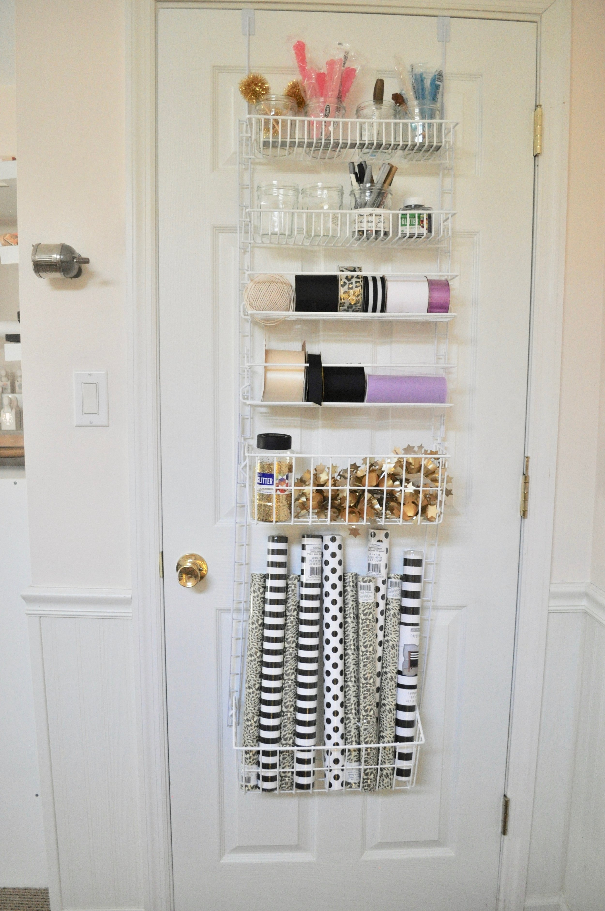 A great solution for small spaces, or for squeezing out storage from every square foot of your space