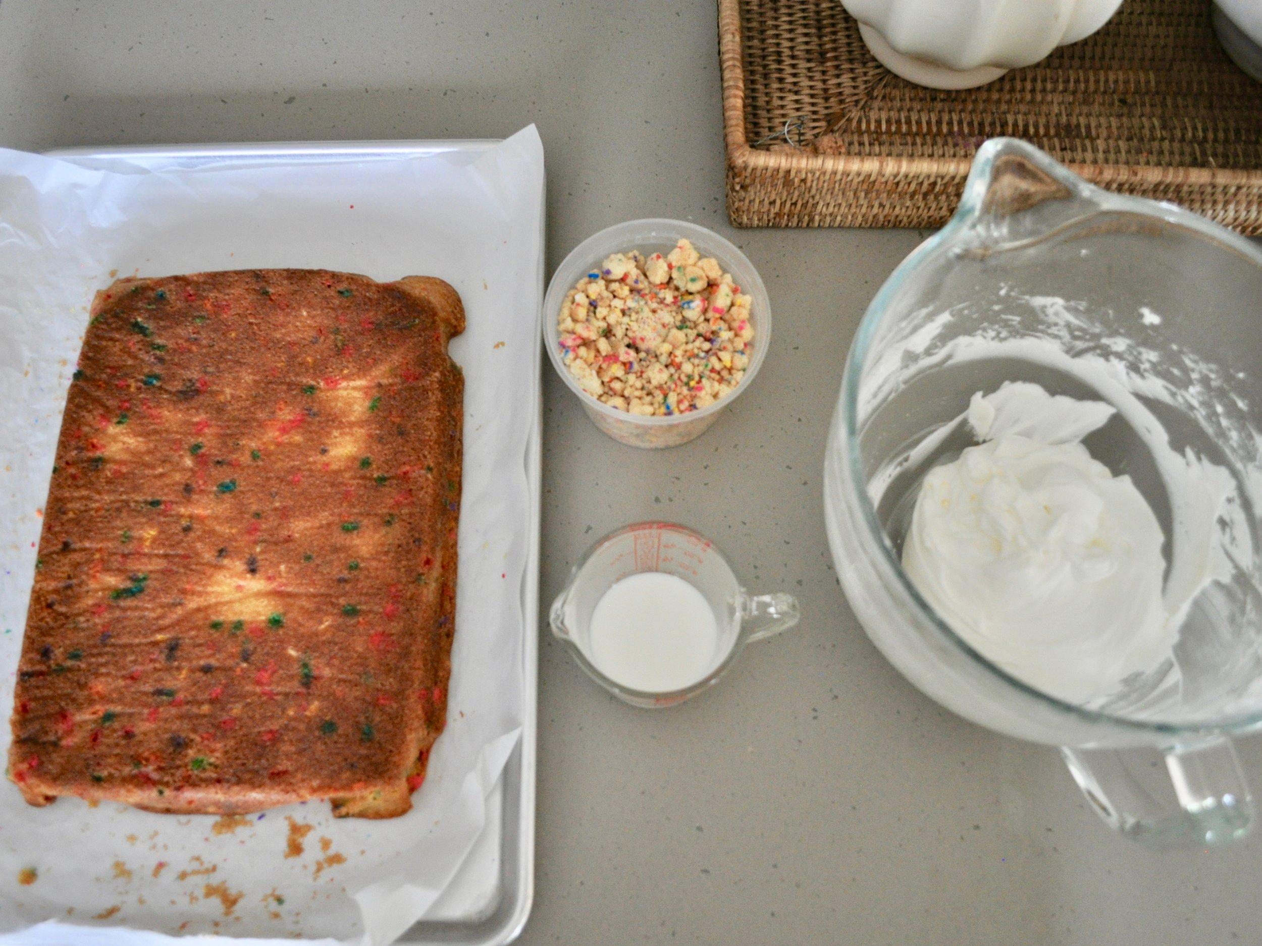 Milkbar Funfetti Cake | @beesandbubbles
