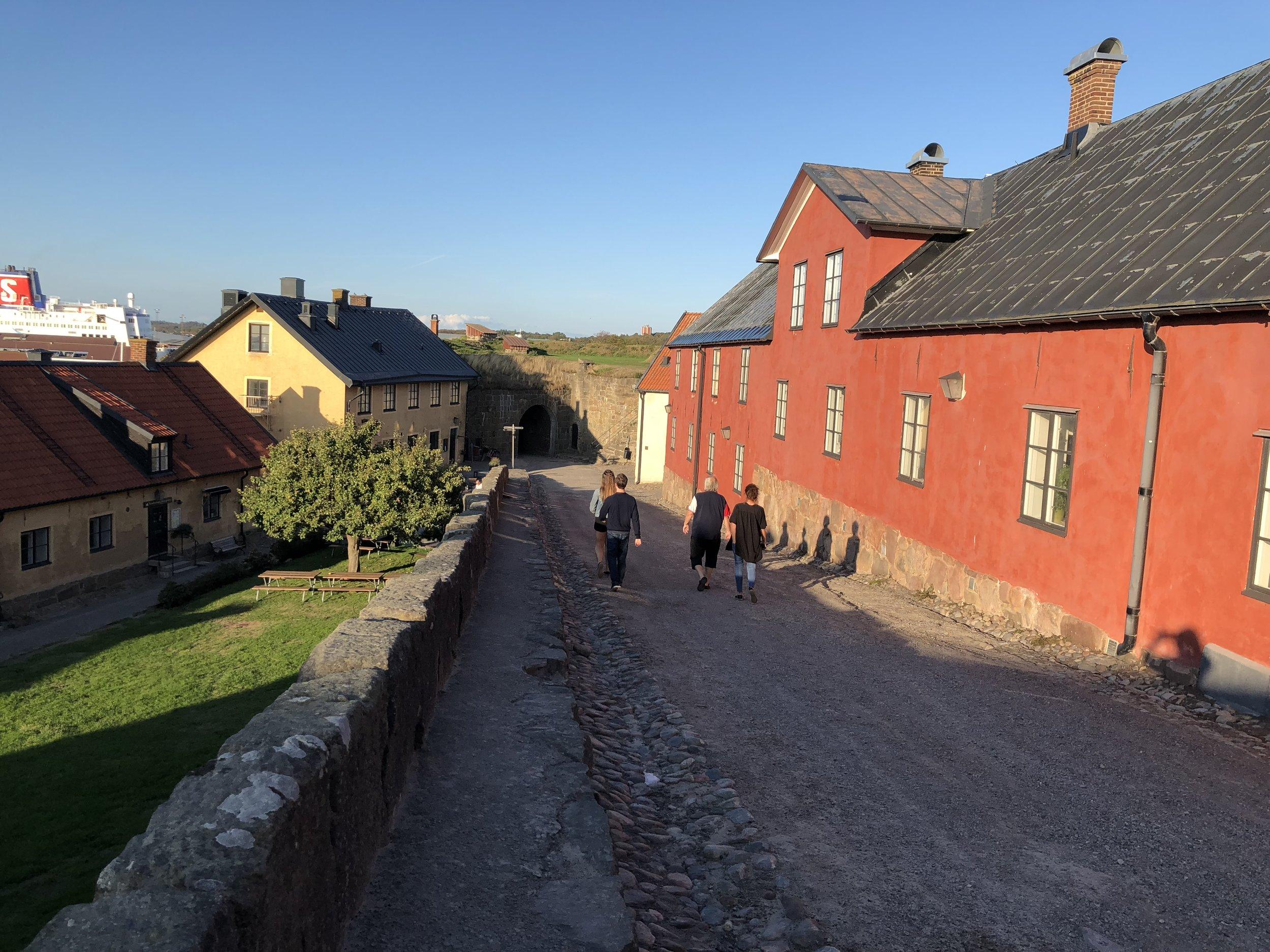 Walking tour of Varberg