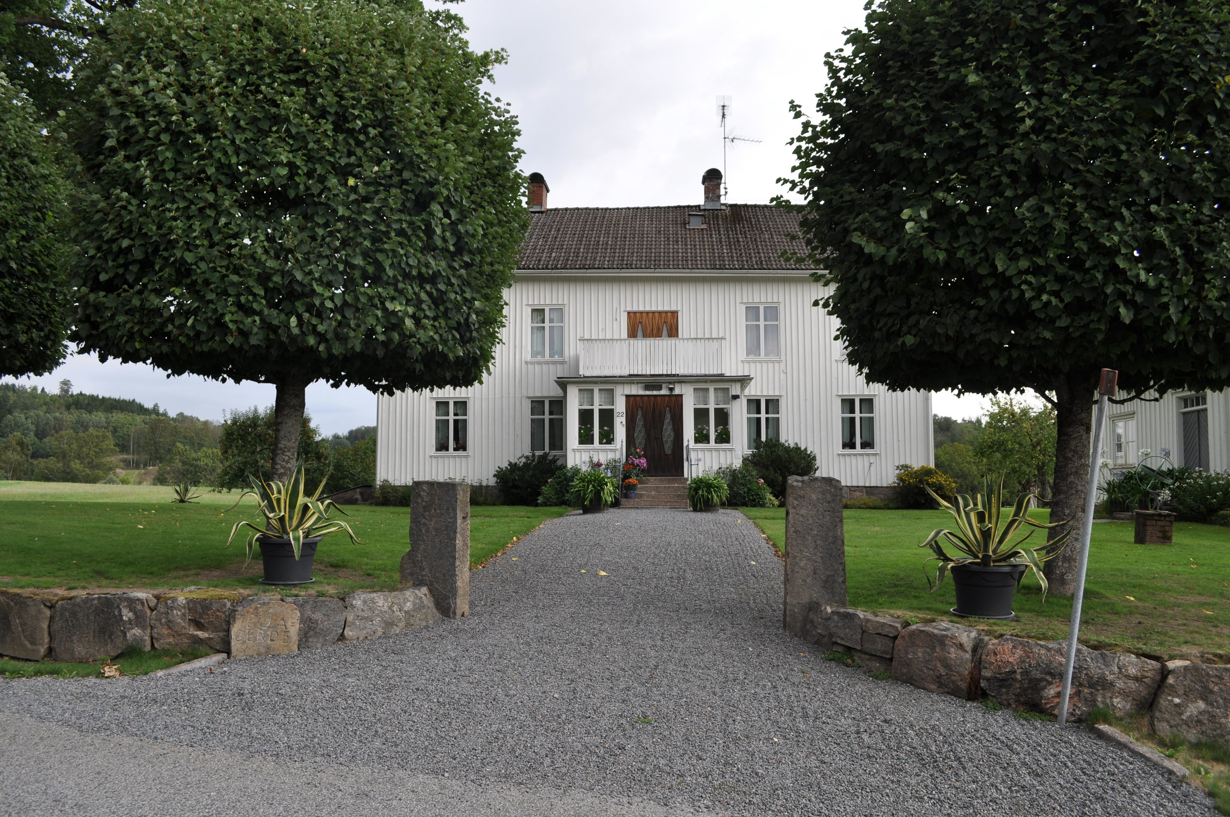 Family home of my great-grandfather, Harald
