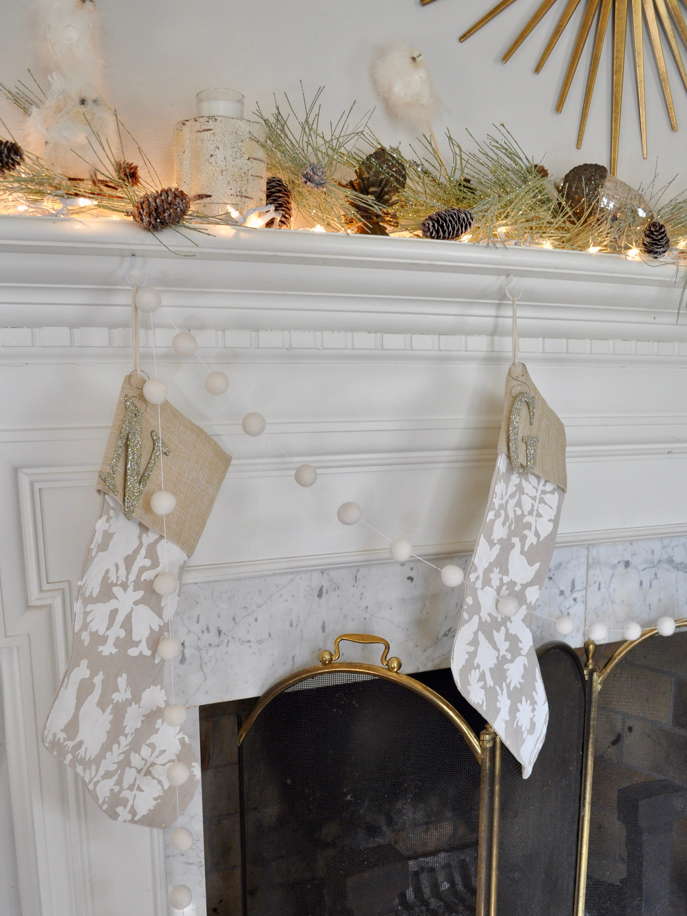 The    stockings    were hung by the chimney with care…