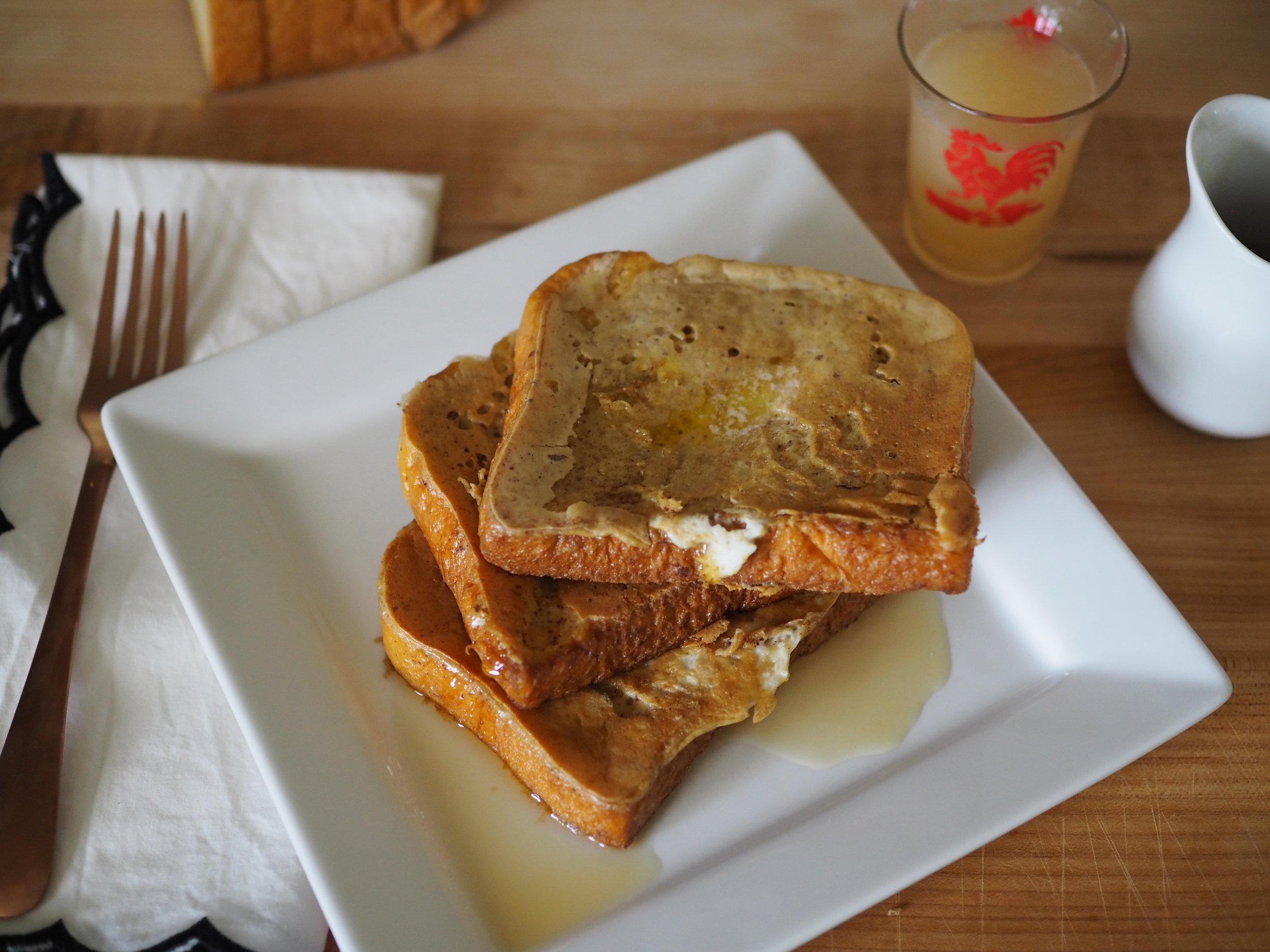 French Toast | @beesandbubbles
