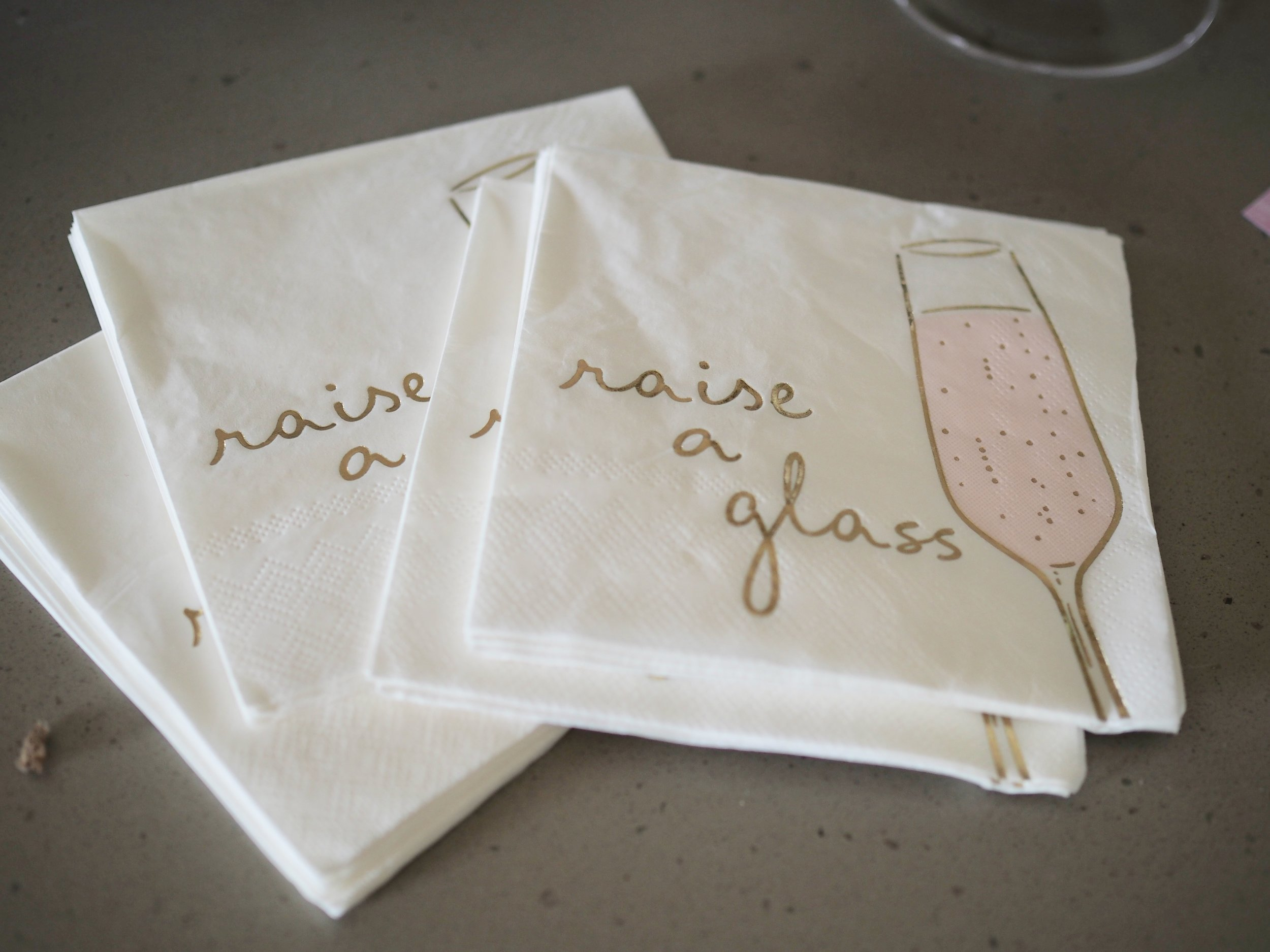 The perfect cocktail napkins