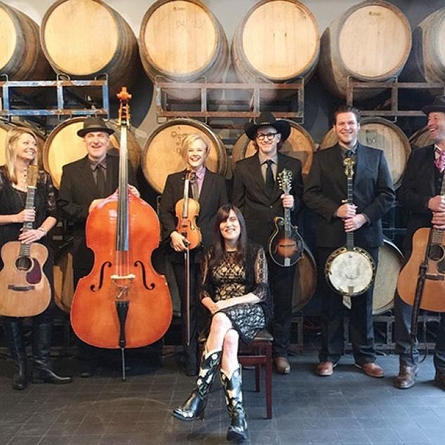Friday night at Bez. Shari Ulrich returns with an epic bluegrass band. The High Bar Gang. Tickets available at Bez Arts Hub dot com