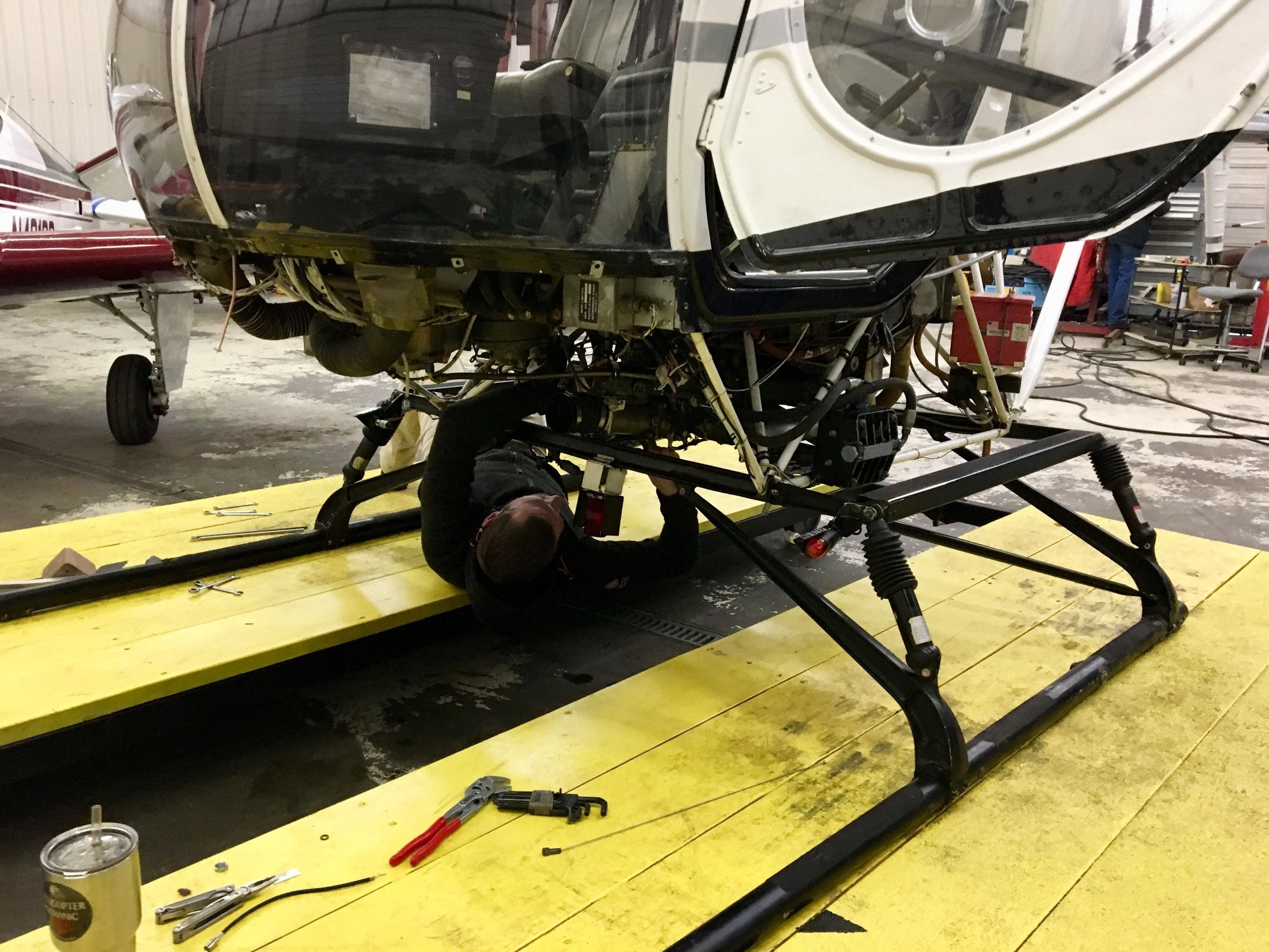 We Do Everything - Our Mechanics Are FAA Certificated To Perform Any Type Of Maintenance On General Aviation Aircraft. From A Major Overhaul To An ELT Battery Change, Let Our Mechanics Work To Keep Your Plane Safe And In The Air!