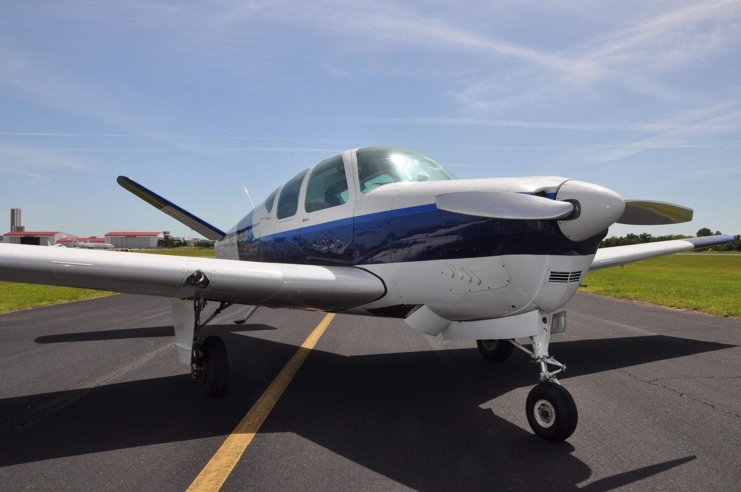 Maintenance - While Our Specialty Is Beechcraft, We Work On Most General Aviation Piston Planes. Our Mechanics Are Experienced ATP Pilots And Will Proudly Fly The Equipment They Repair.