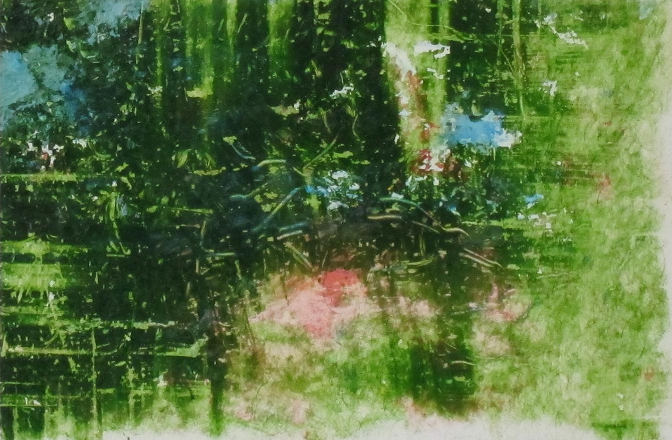 "#11, Oil on Panel, 2"" x 3""  2013"
