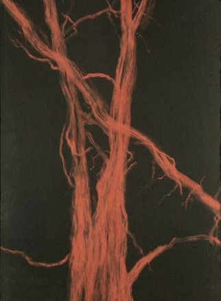 Standing Alone , pastel on paper, 19x26, 2003