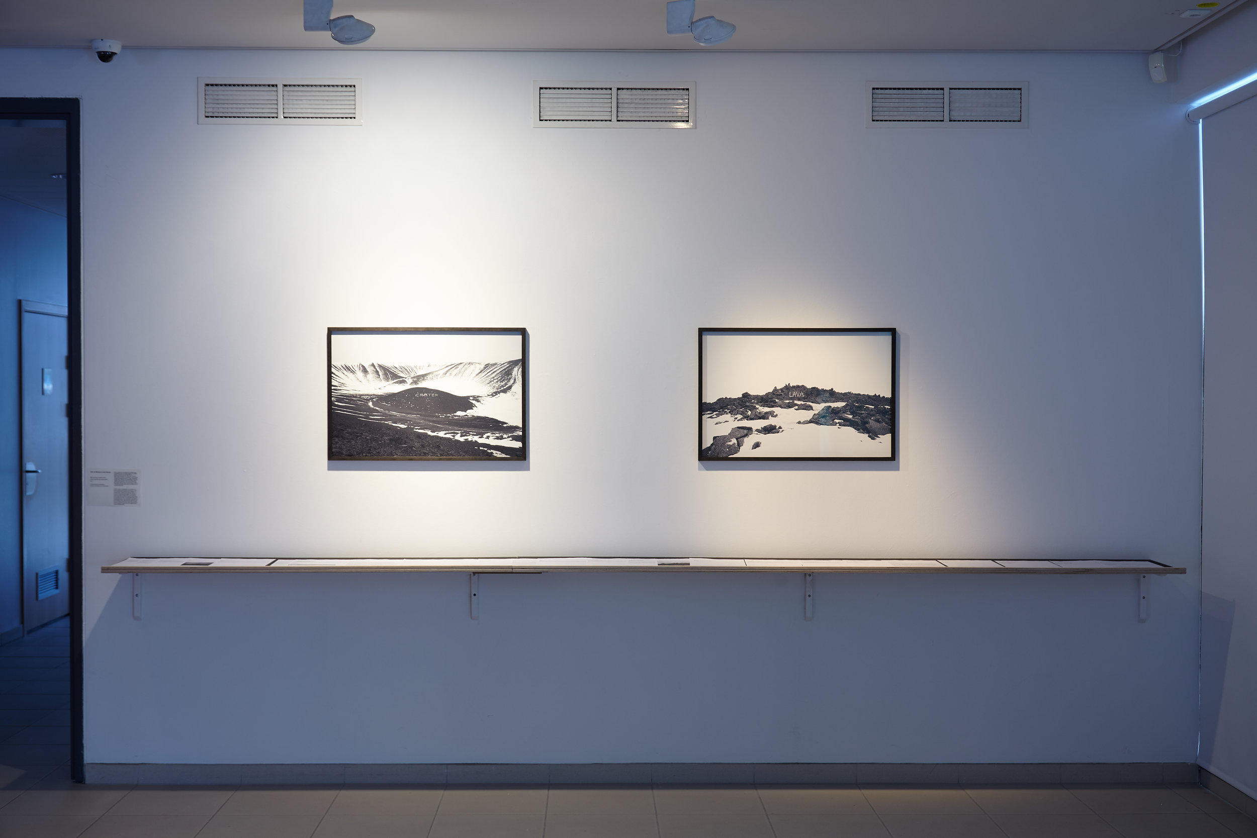 Bismarck and Charrière:  Crater  and  Lava  from the series  Kunst  (2013).