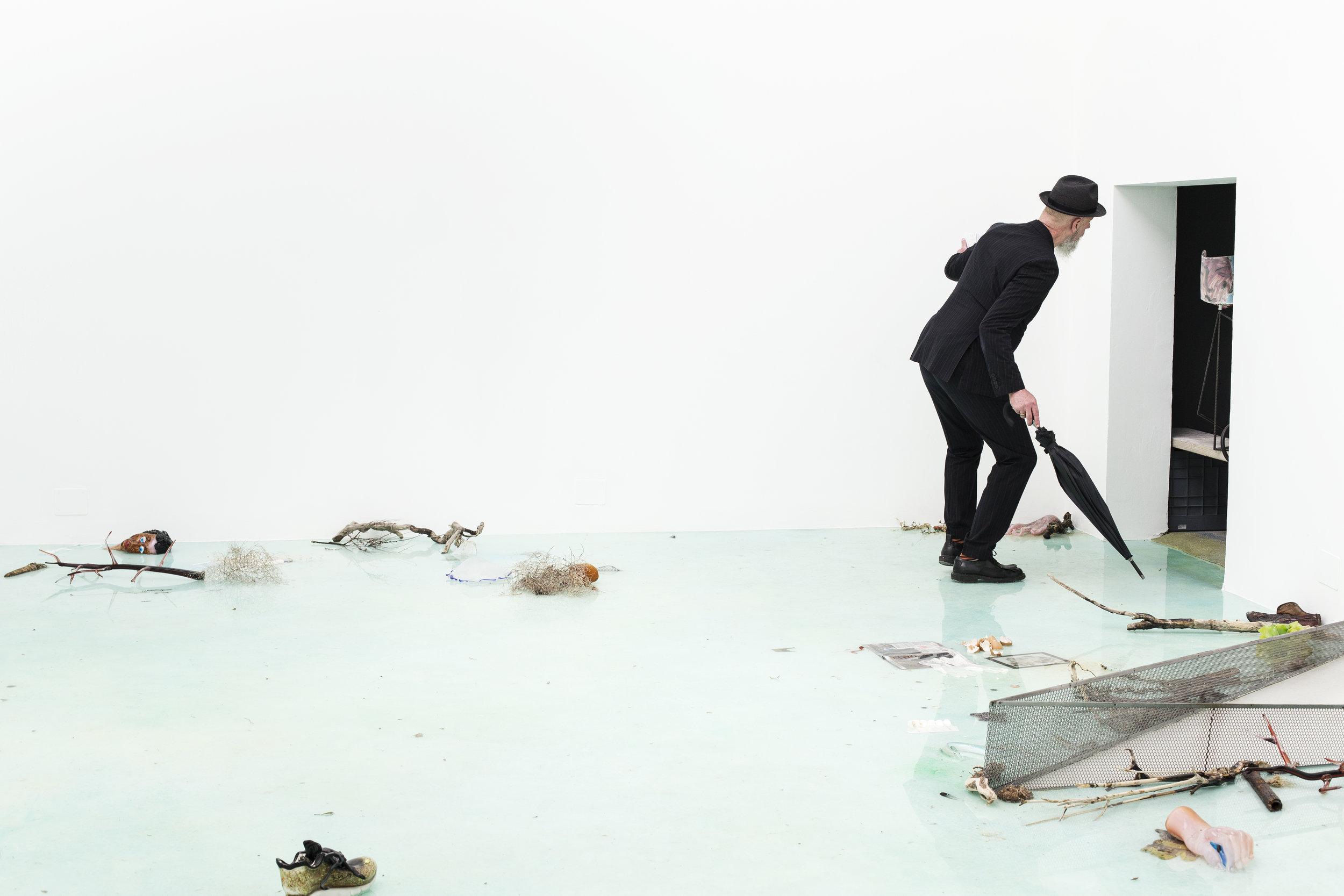 Deep Sea Blue Surrounding You  (2019) by Laure Prouvost. Photo by Francesco Galli. Courtesy the artist, La Biennale di Venezia.