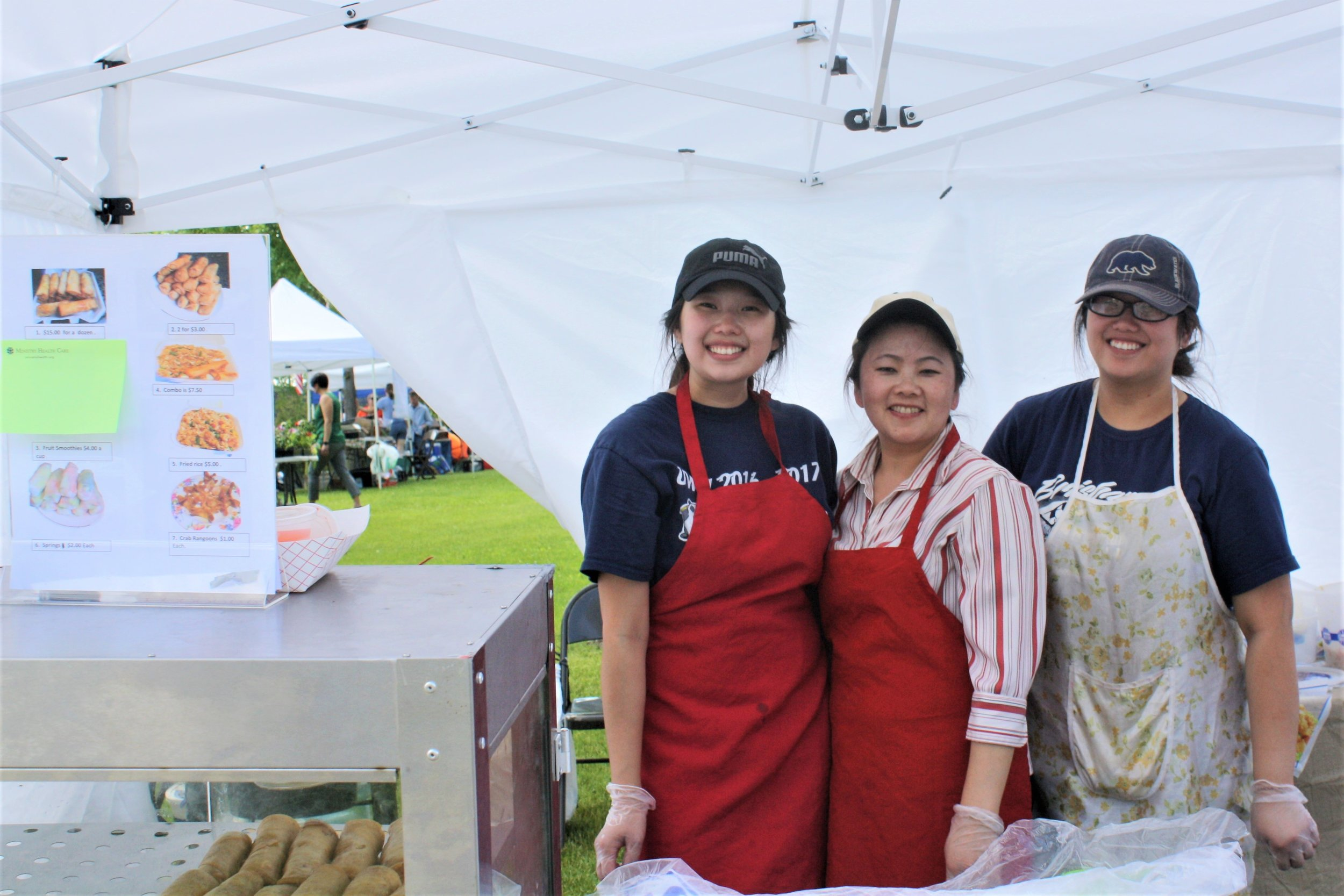 Los Tres Manantiales (Giselle, Laura and Jose Gaytan) will be joining the Market at Town Square for the first time, bringing classic, homemade Mexican foods.
