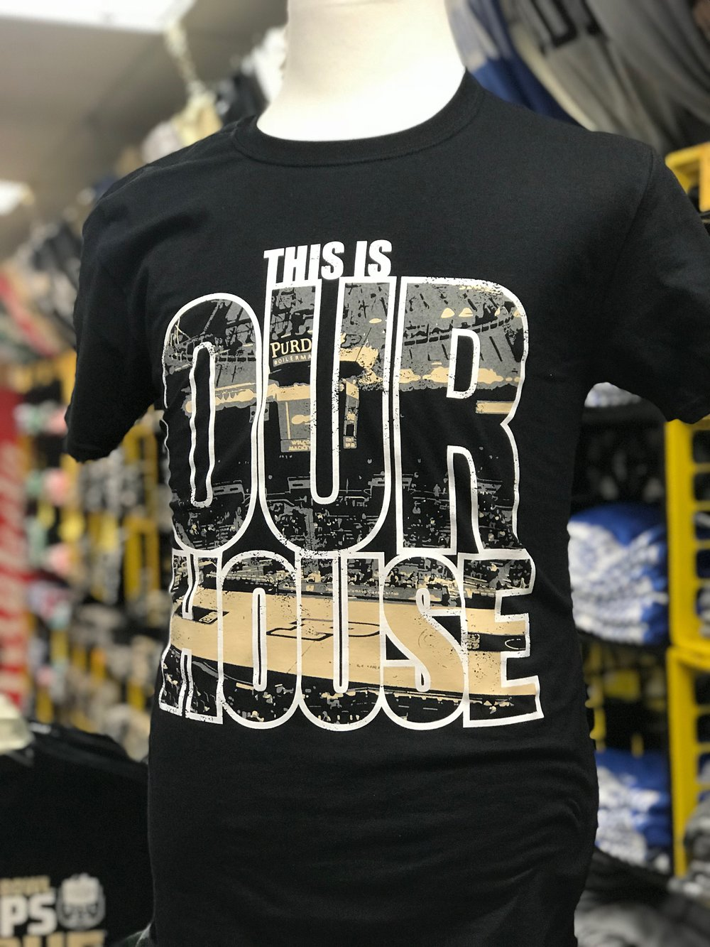 Purdue Basketball Our House T Shirt.jpg